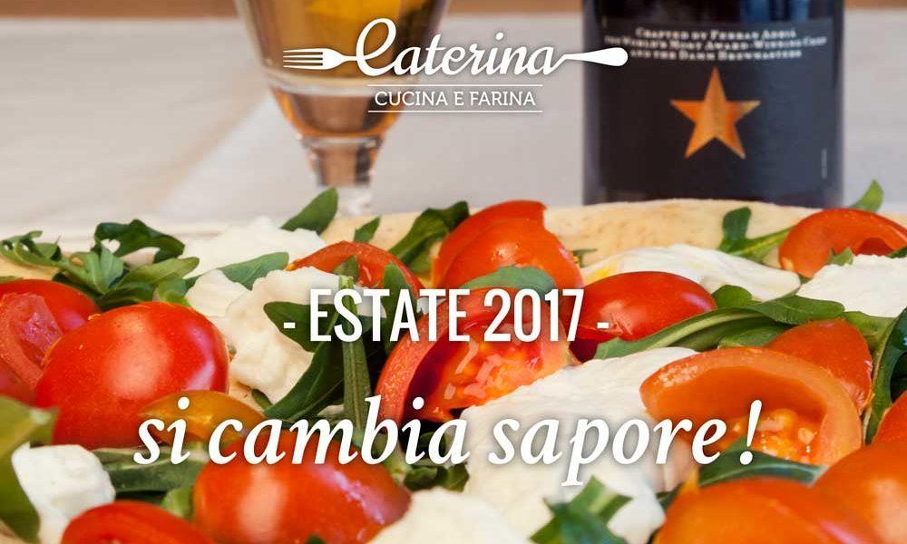 nuovo menu estate caterina cucina e farina milano