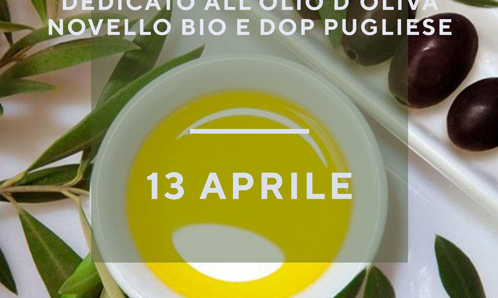 menù degustazione olio d'oliva
